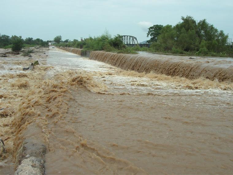 Presa Derivadora sobre el Río Culiacán