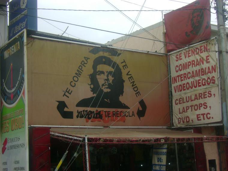 El Che vendiendo despuès de la muerte