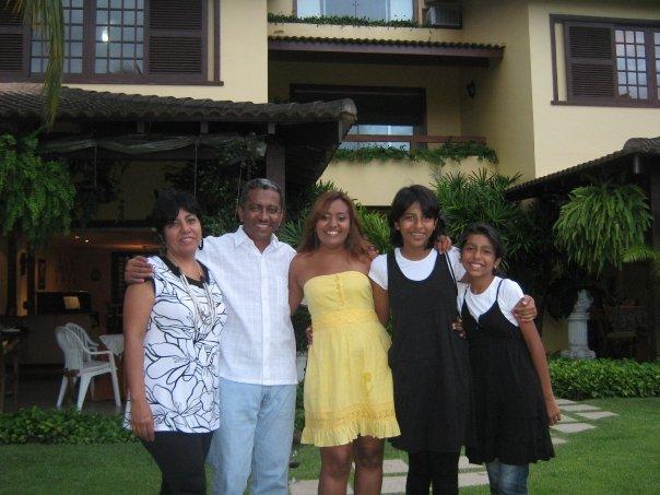 la familia Ortega Romero