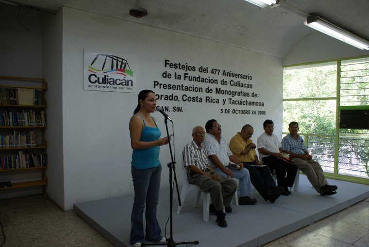 Jesús Graciela Zazueta, Adrián García, Esteban Ruiz, Rosendo Romero, Benjamin Luna y Julio Mendivil