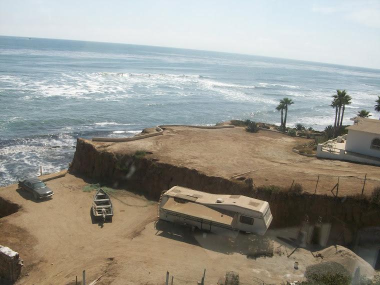 Vista clásica en la peninsula de Baja California