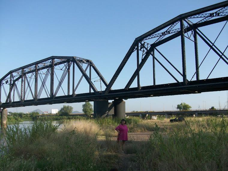 El famoso puente negro de la Ciudad de Culiacán Rosales.