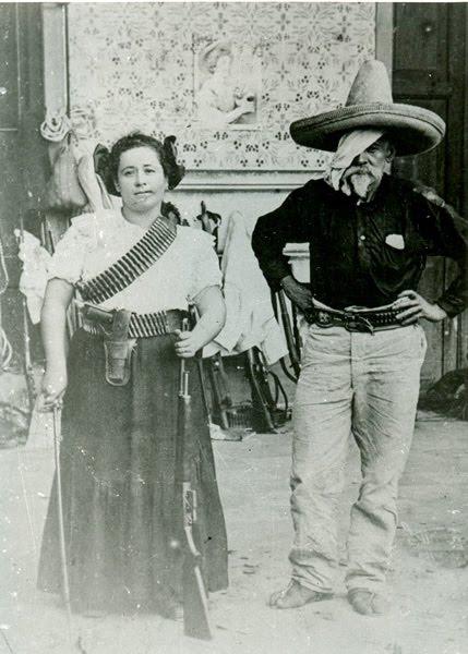 Clara de la Rocha y don Herculano de la Rocha