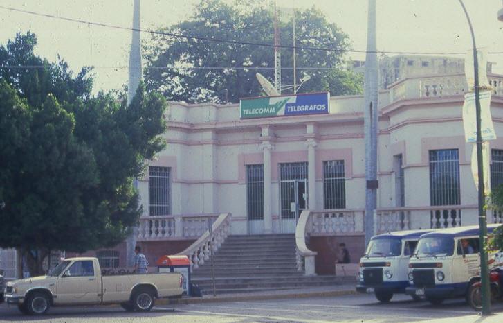 Actual oficina de Telegráfos Nacionales de Culiacán Rosales
