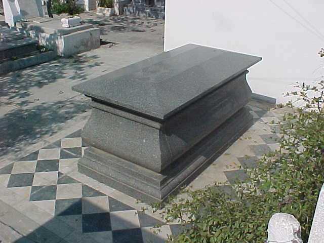 Repositorio de los restos del General Francisco Cañedo Almonte