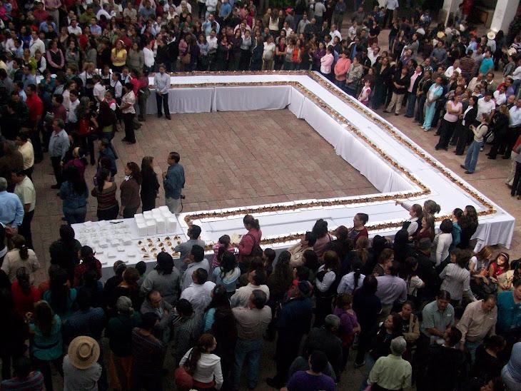 La rosca de reyes más grande de Culiacán