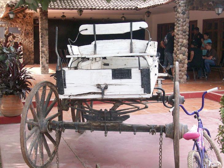 Boogie que usaban los ricachones de el valle de Río San Lorenzo para pasearse