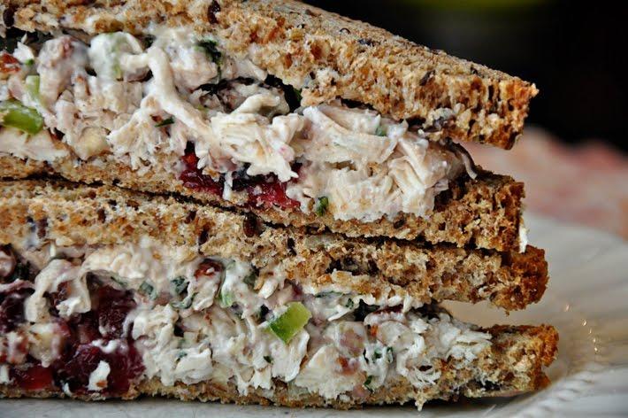 Chicken pecan salad sandwich recipe