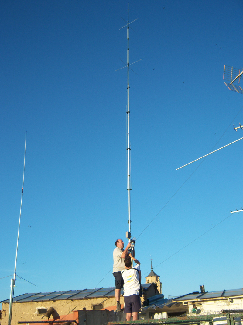 Consiglio Personalizzato Per Antenna Hf Su Terrazzo