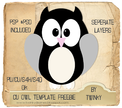 CU Owl Template (Twinky) OwlTemplatePreview