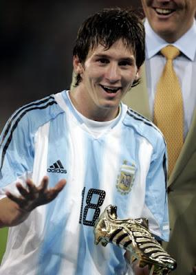 Messi piensa en Argentina