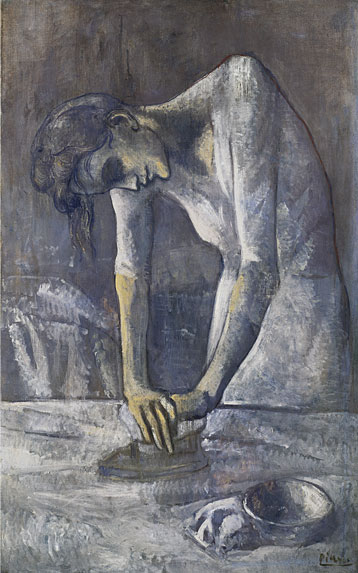 picasso blue period woman. from picasso#39;s blue period