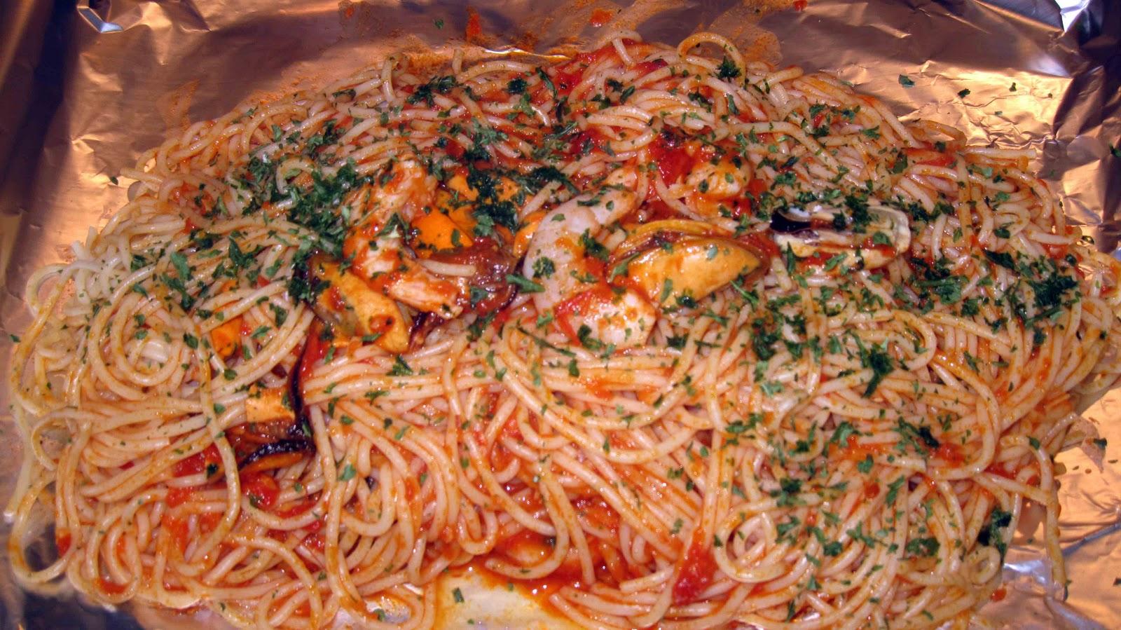 Espaguetis al horno cocinar en casa es for Como cocinar espagueti