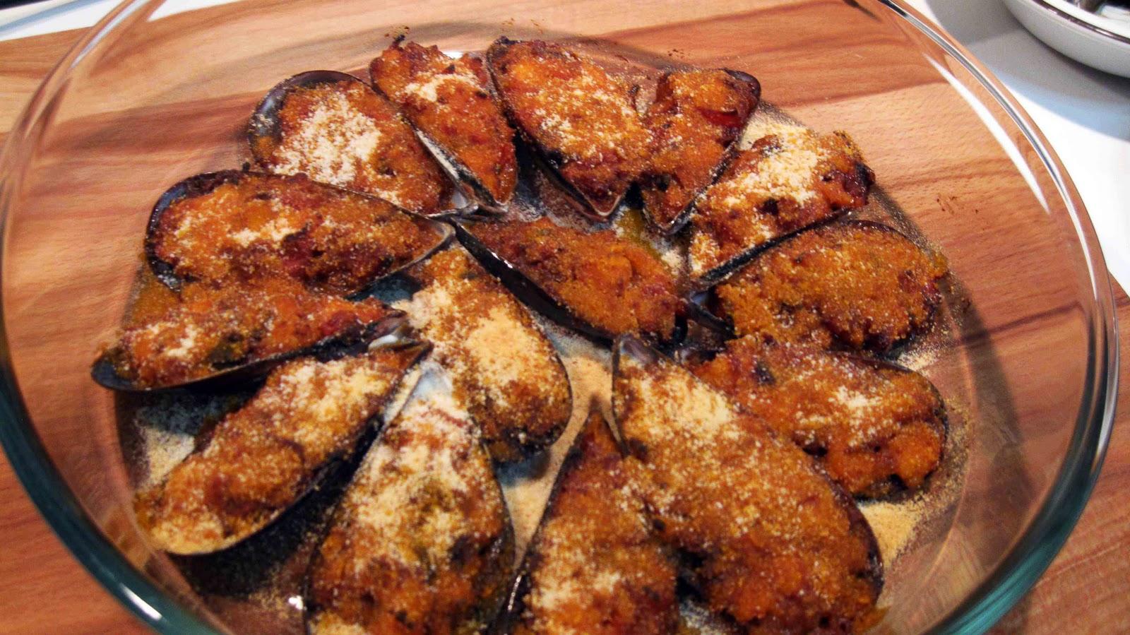 Mis recetas de cocina mejillones al horno - Cocina al horno ...