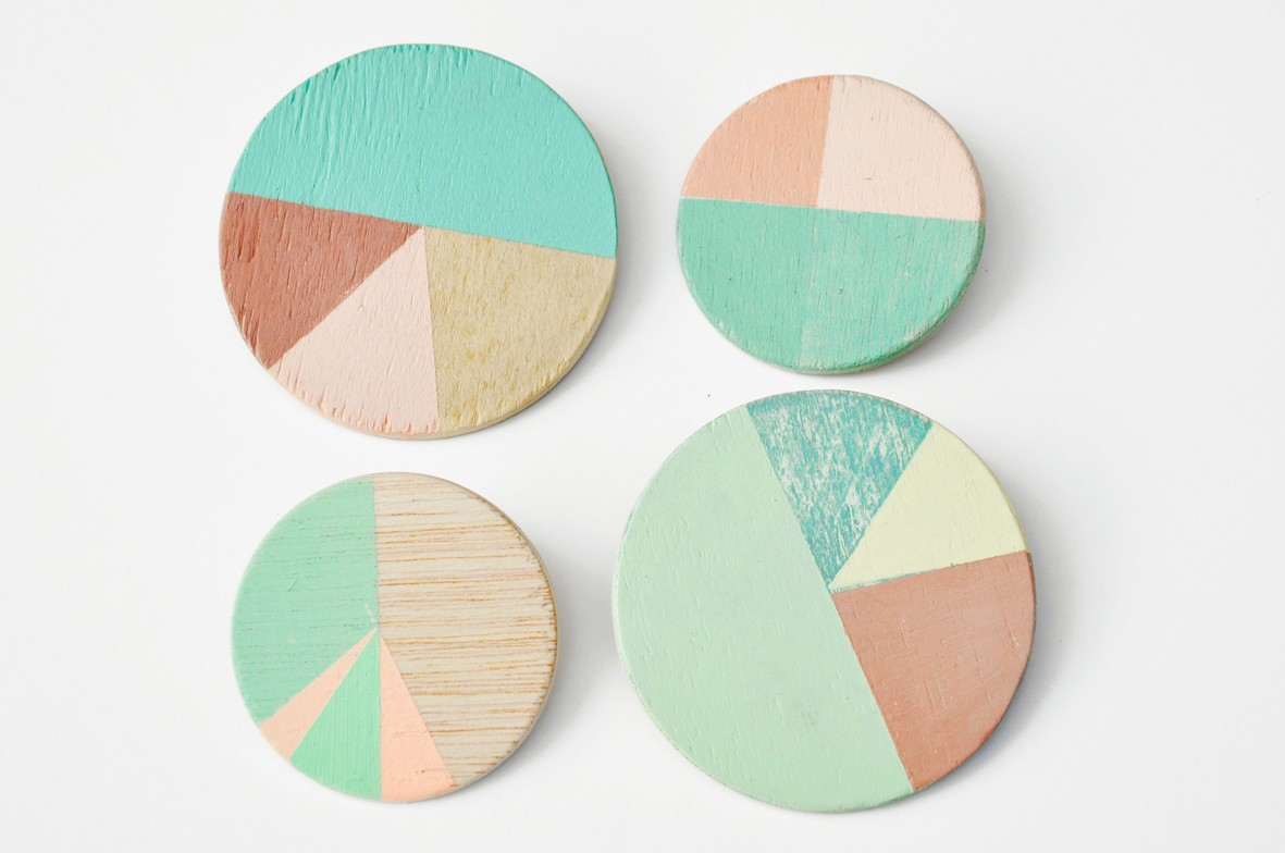 Seesaw pie chart pins these little handpainted pins from studio fluid are so beautiful i kind of want giant versions to arrange on a wall nvjuhfo Image collections