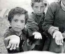 Pequenos colombianos, vitimas