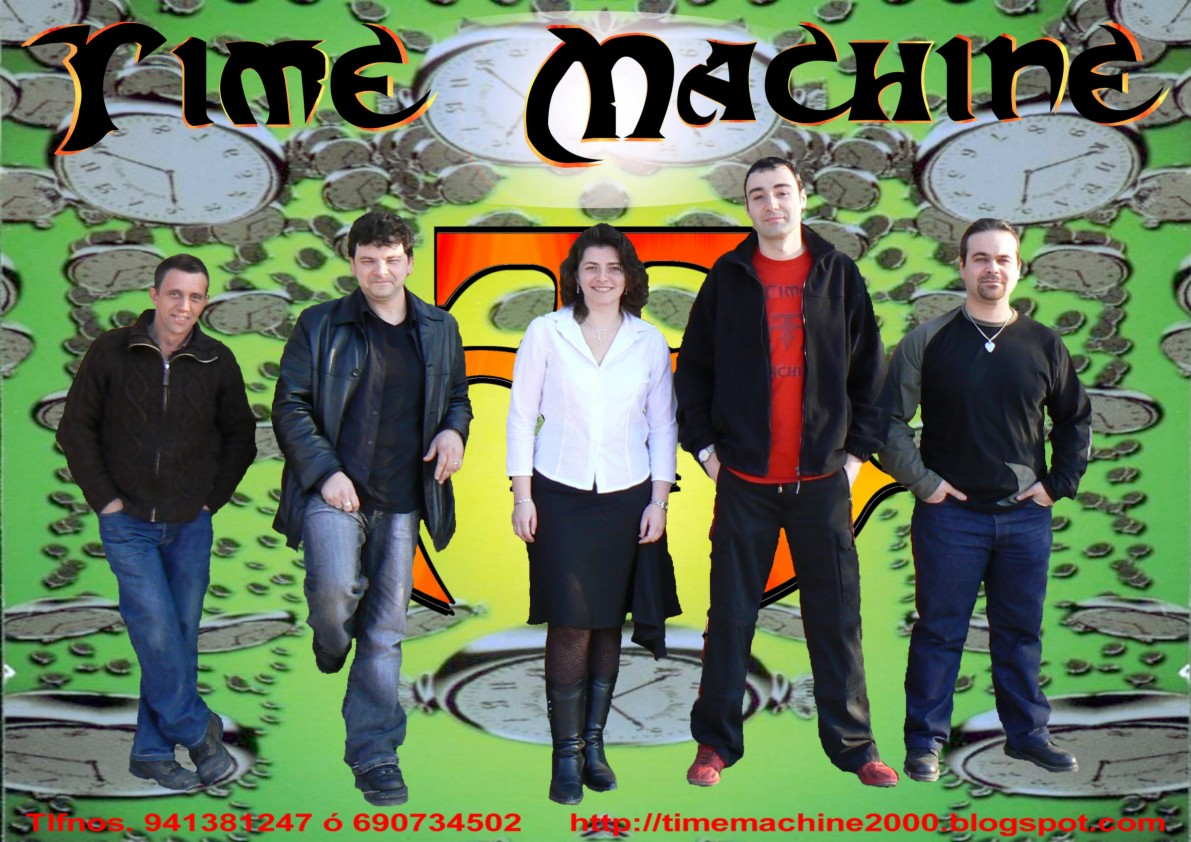 Time Machine formacion 2006/2008