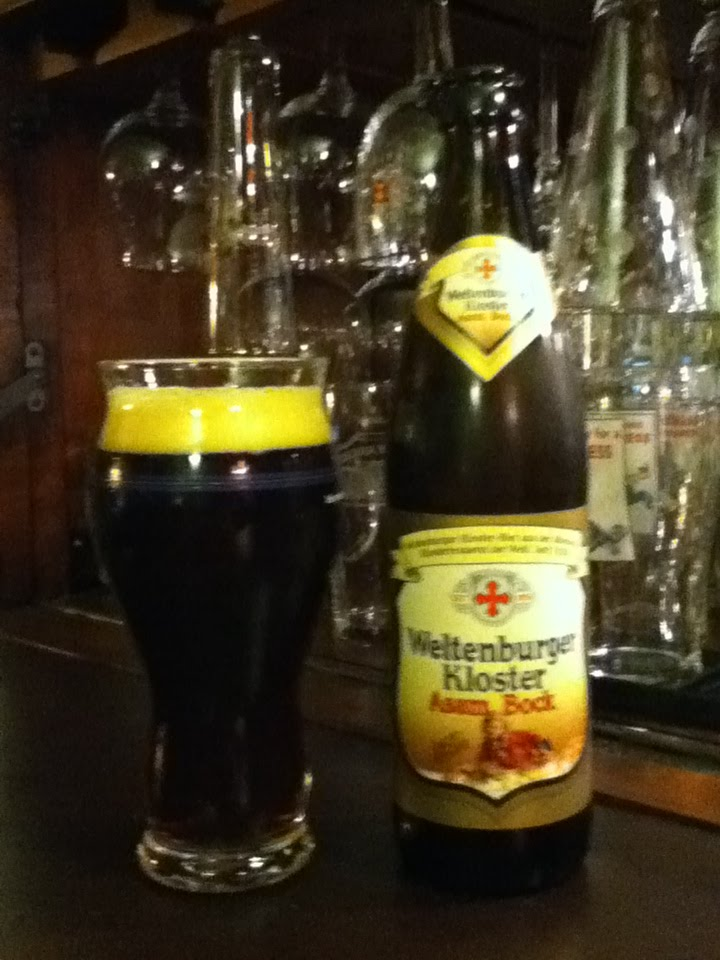 the I B U Incredible Beer Universe Weltenburger Kloster Asam Bock