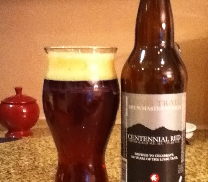 the I B U Incredible Beer Universe Long Trail Centennial Red