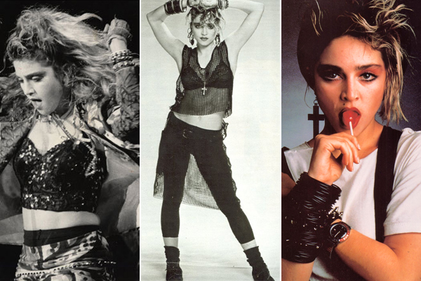 Madonna 80s Fashion Pictures Madonna brought