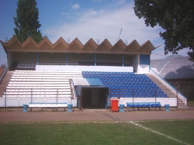 Tribuna oficiala a stadionului Unirea