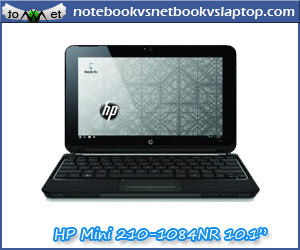 HP MINI 210-1084NR 10.1-INCH BLUE NETBOOK - 9.75 HOURS OF BATTERY LIFE