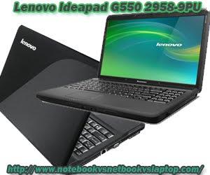 LENOVO IDEAPAD G550 2958-9PU INTEL PENTIUM DUAL CORE T4500 PROCESSOR