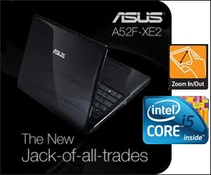 ASUS A52F-XE2 INTEL CORE I5-460M PROCESSOR