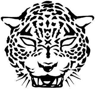tatuaje jaguar diseñado por un servidor.