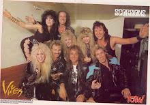 Vixen y Scorpions