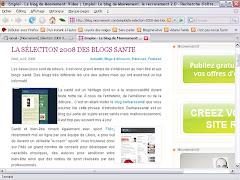 Blog santé 2008!