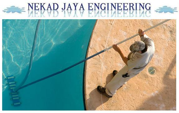 Swimming pool maintenance incharge
