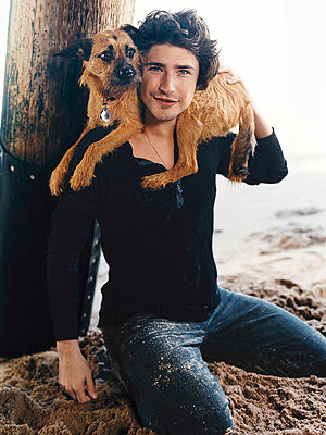 Actor Matt Dallas has a crush