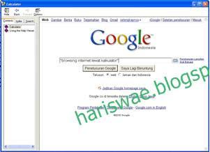 Browsing Internet Lewat Kalkulator 1