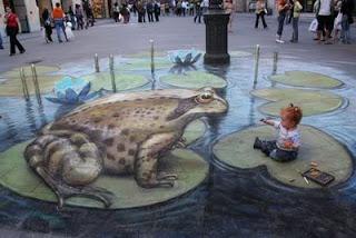 Photo-photo Street Painting 14