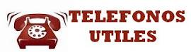 TELEFONOS UTILES Y DIRECCIONES DE EFECTORES