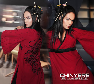 Fashion Trends 2010 Fall 2010 on Chinyere Fall   Winter Collection 2010   Japanese Dresses Trend In