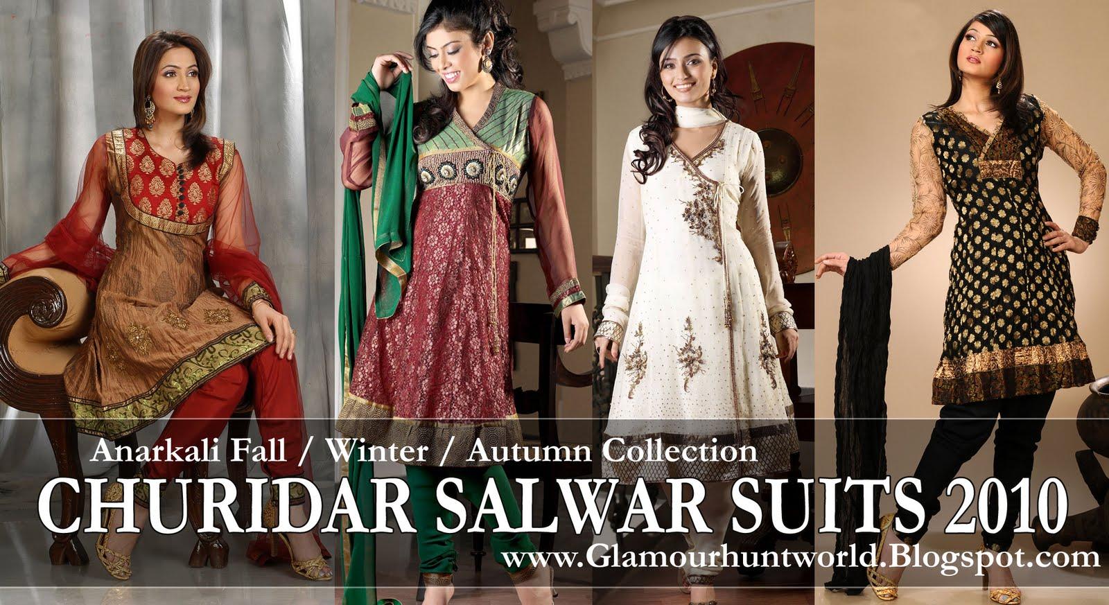 Indian churidaar suits 2010 11 anarkali churidaar salwar kameez