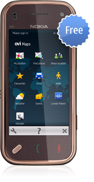 OVI Navigation on your Nokia. For free