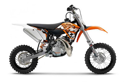 2011 KTM 50 SX Modified