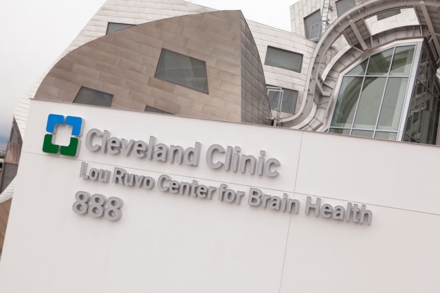 building house Cleveland Clinic Lou Ruvo Center