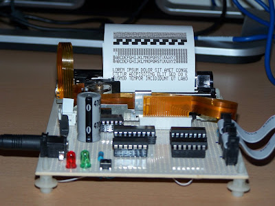 connect the thermal printer to microcontroller electro 7-Seg Display Data Sheet Seven Segment Display