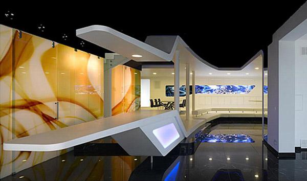 Futuristic Interior Design Gallery from Luxury House