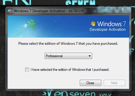 product key for windows 7 ultimate build 7600