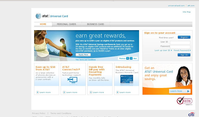 At&T Universalcard.com Sign in - Login to Www.universalcard.com