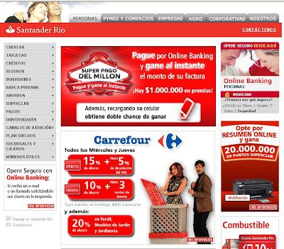 Www.santanderrio.com.ar online banking