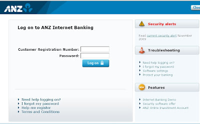www.ANZ.Com.Au-Logon for Internet Banking