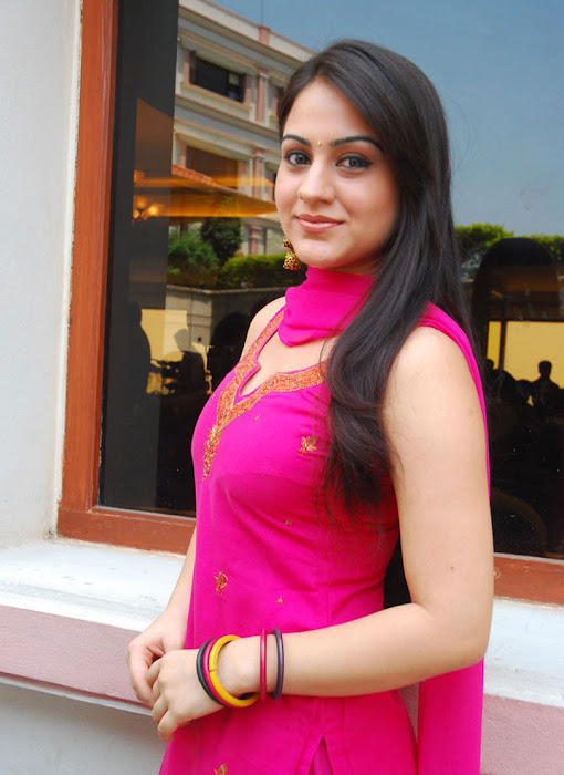 aksha in test pink dress aksha smooth lips hot photoshoot