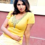 Bhuvaneswari in Tight Yellow Dress Hot Pics