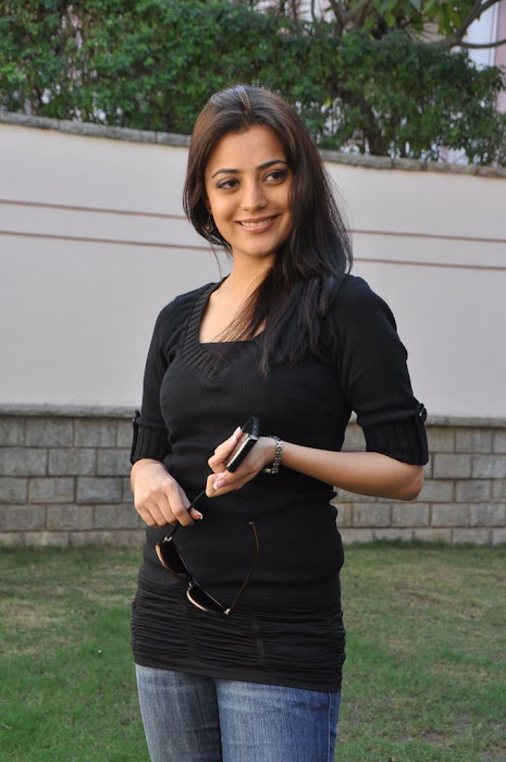 nisha agarwal new in charming black dress glamour  images